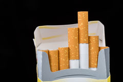 Cigarette pack Stock Photo