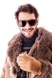 Cigarette pack Stock Photography