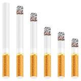 Cigarette set Stock Image
