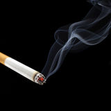 Cigarette smoke Stock Photography
