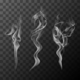 Cigarette smoke stock illustration