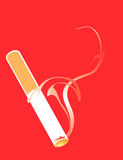 Cigarette Smoking Stock Photography