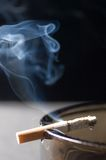 Cigarette smoking Royalty Free Stock Image