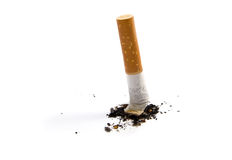 Cigarette stub Stock Photo
