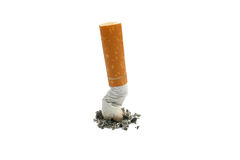 Cigarette stub Stock Photography