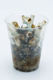 Cigarette and tobacco Royalty Free Stock Photos