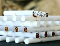 Cigarette, Tobacco Products, Smoking Cessation stock image