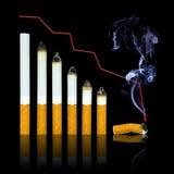 cigaretten varje slut går graflivstid till ditt Royaltyfri Bild