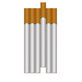 cigaretter Stock Illustrationer