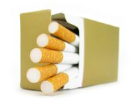 Cigarettes Photographie stock