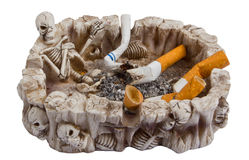 Cigarettes. Smoking is not health Stock Photo