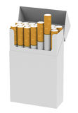 The cigarettes Royalty Free Stock Photos