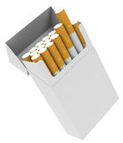 The cigarettes Stock Photography