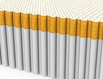 The cigarettes Royalty Free Stock Photo
