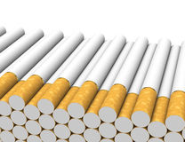 The cigarettes Stock Images
