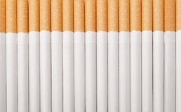 Cigarettes as background Stock Photography