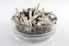 Cigarettes in an ashtray Stock Photography