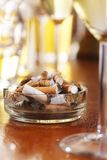 Cigarettes In Ashtray Stock Images