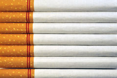 Cigarettes Background Stock Images