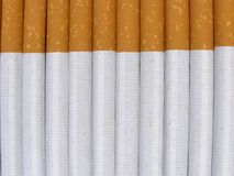 Cigarettes background Stock Photo
