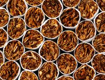 Cigarettes background Royalty Free Stock Image