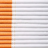 Cigarettes background Stock Photos