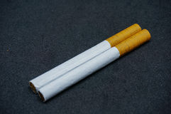 Cigarettes blanches Photo libre de droits