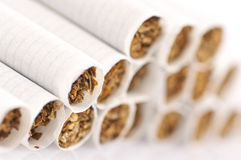 Cigarettes close-up Stock Image