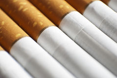 Cigarettes close-up Royalty Free Stock Photography