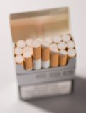 Cigarettes close up Royalty Free Stock Photography