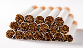 Cigarettes close up Royalty Free Stock Image