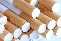 Cigarettes in close-up Royalty Free Stock Photo