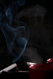 Cigarettes and coffee. Royalty Free Stock Photos