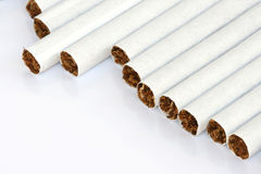 Cigarettes copyspace Royalty Free Stock Photos
