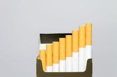 Cigarettes d'O de paquet Images libres de droits