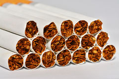 Cigarettes. That are dangerous to our health Royalty Free Stock Images