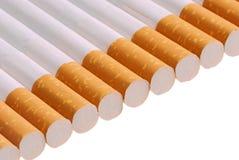 cigarettes de fond Photos stock