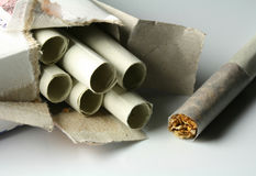 Cigarettes de Papirosa Image stock