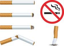 Cigarettes et Photo stock