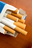 Cigarettes with filter Royalty Free Stock Photo