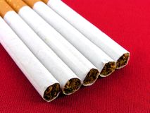 Cigarettes the filter. Royalty Free Stock Image
