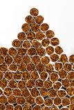 Cigarettes heap Royalty Free Stock Photography
