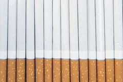 Cigarettes. A lot of cigarettes as a background Royalty Free Stock Images