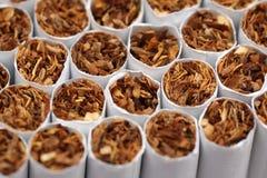 Cigarettes macro Royalty Free Stock Photo