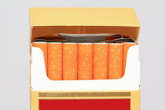 Cigarettes pack Stock Image