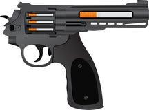 Cigarettes pistol Stock Photo