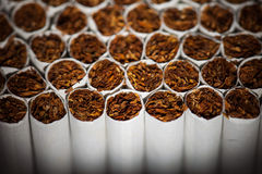 Cigarettes production line Stock Image