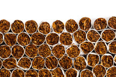 Cigarettes production line Stock Photos