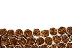 Cigarettes production line Royalty Free Stock Images