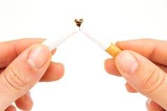 cigaretthänder Royaltyfria Foton